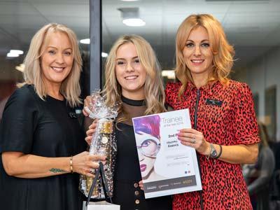 Naomi Reeks - Francesco Group Winton Trainee of the Year