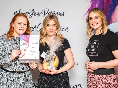3rd Place Level Two - Trainee of the Year - Grace Baker - Francesco Group Stafford Salon Academy