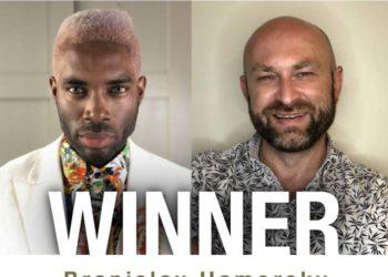 Branislav Hamorsky - LOreal Colour Trophy Mens Image Winner