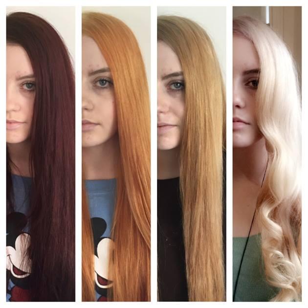 Dark Hair to Blonde Hair - Francesco Group Hairdressing