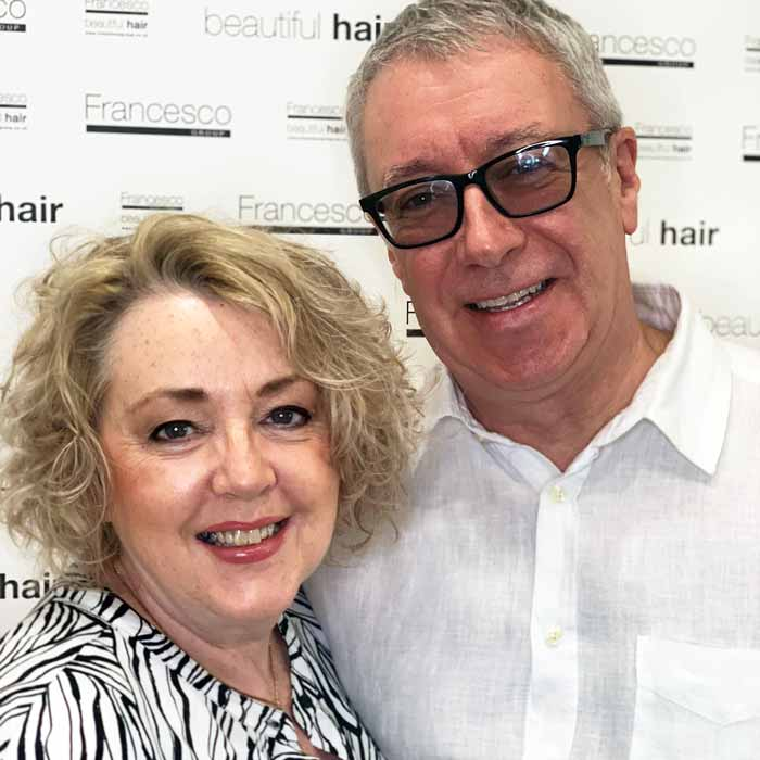Kerry and Judy O'Sullivan Celebrate 35 Years of Hairdressing