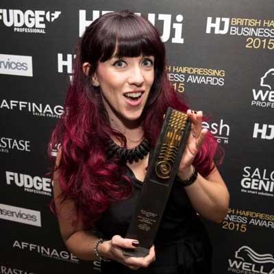 Kate O'Sullivan British Hairdressing Business Awards Winner