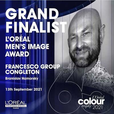 L'Oreal Colour Trophy Grand Finalist Brian Hamorsky