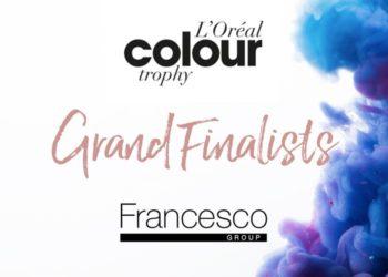 L'Oreal Colour Trophy Grand Finalist