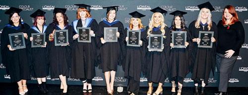 L'Oreal Professionnel Colour Specialists Graduate - Group 2