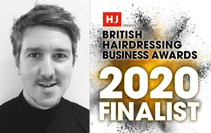 Francesco Group - Greg Corbett - British Hairdressing Business Awards 2020 Finalist