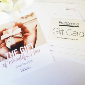 Francesco Group Gift Card and Holder