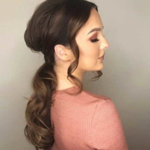 Glamourous Low Ponytail Hair Christmas Party Hair Inspiration
