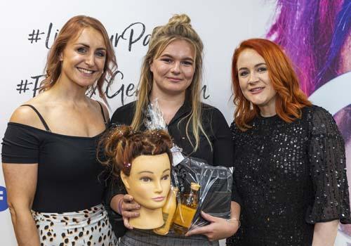 Hairdressing Apprentice Awards at Francesco Group Trainee of the Year Awards - Level 1 Winner Summer