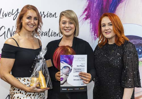 Hairdressing Apprentice Awards at Francesco Group Trainee of the Year Awards - Level 2 3rd Place Frankie