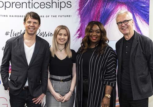Hairdressing Apprentice Awards at Francesco Group Trainee of the Year Awards Judges
