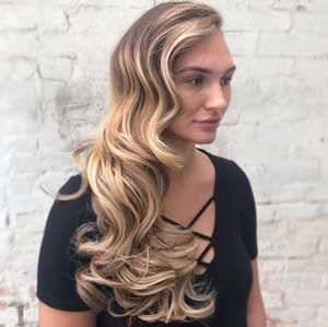 Hollywood Waves Hair Christmas Party Hair Inspiration