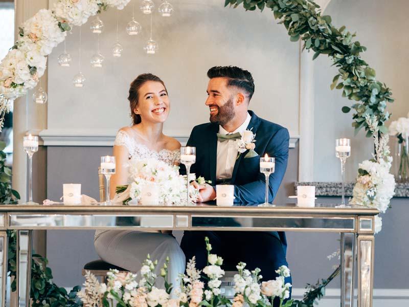 Achieve Dream Wedding Hair at Francesco Group - Wedding Couple