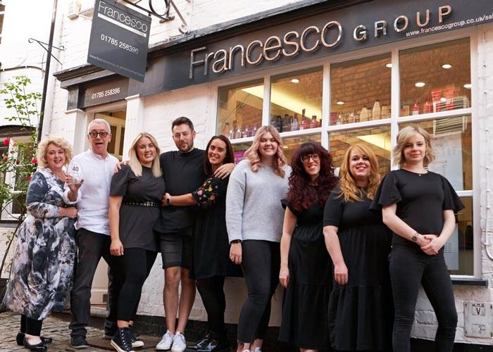 Kerry OSullivan Celebrates 40 Years With Francesco Group