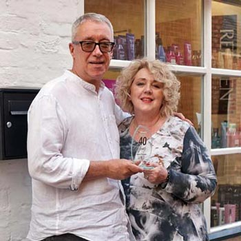 Kerry OSullivan Celebrates 40 Years With Francesco Group - Kerry and Wife Judy
