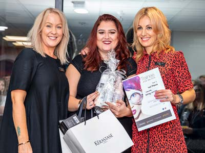Laura Edney-Smith - Sands Hair Design Trainee of the Year
