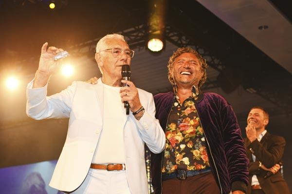 Pete and Franck Dellicompagni Celebrate