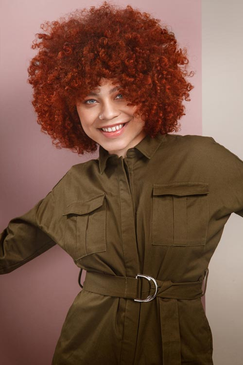 Red Revolution Francesco Group Hair Collection Cayenne Red Hair