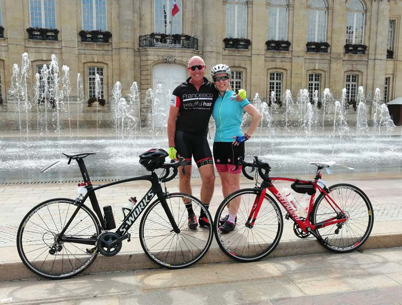 Sentimental Journey Our very own Suzy Whalley raises over £1900 with a London to Paris Bike Ride