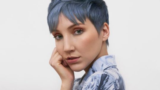 True Blue - Embrace the Calm Before the Storm - Denim Blue - Blue Hair Trends