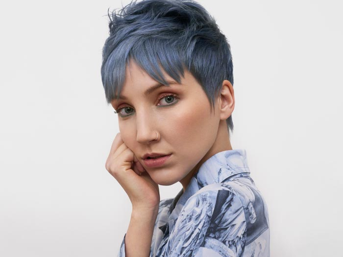 True Blue - Embrace the Calm Before the Storm - Denim Blue - Blue Hair Trends