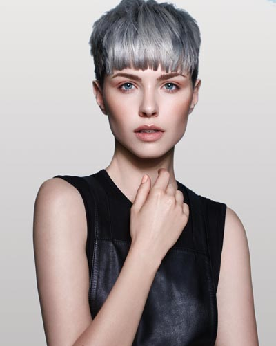 True Blue - Embrace the Calm Before the Storm - Blue Hair Trends