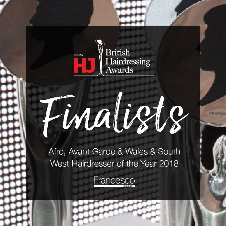 British Hairdressing Awards 2018 - Francesco Group