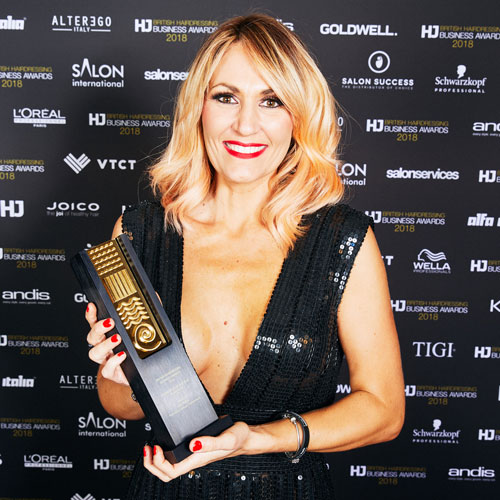 British Hairdressing Business Awards Lisa Walby