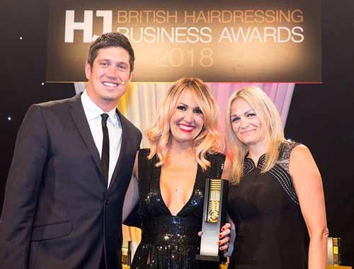 British Hairdressing Business Awards Winner Lisa Walby