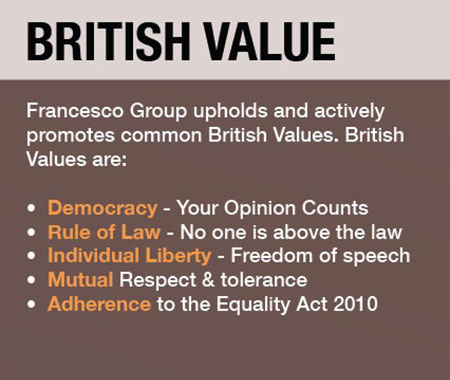 Safeguarding - British Values