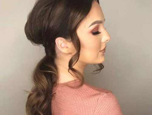 Christmas Party Updo Inspiration