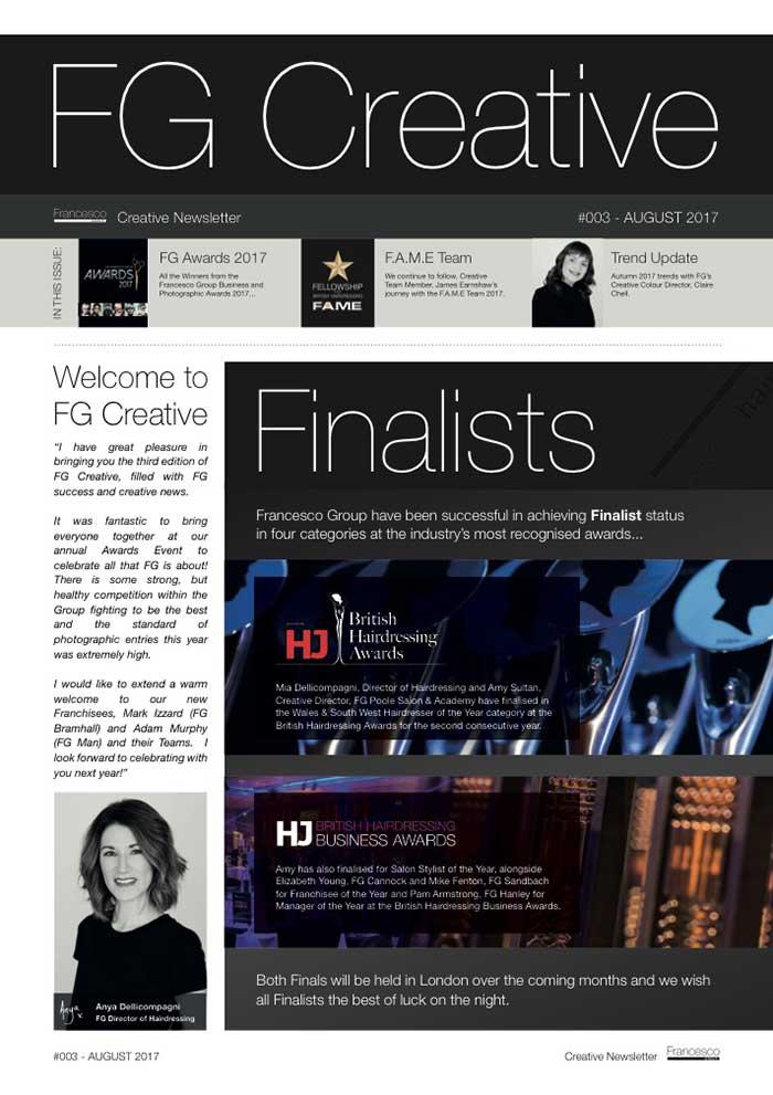 FG Creative #003 Cover