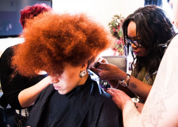 Afro and Curly Hair at Francesco Group