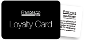 Francesco Group Loyalty Card