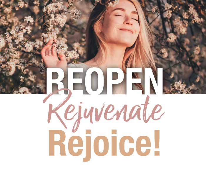 Reopen, Rejuventate, Rejoice