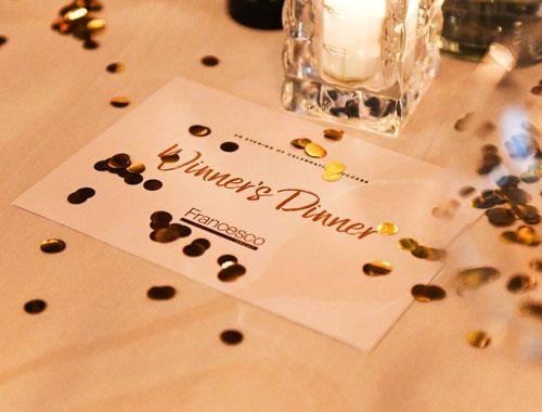 Francesco Group Winners Dinner Awards