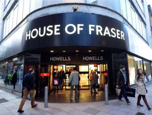 House of Fraser Francesco Group