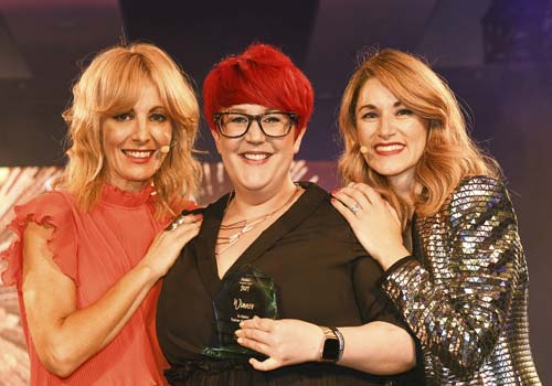 In-salon Trainer Of The Year Becky Lou Thornley Francesco Group