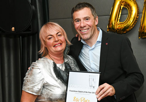 Franchisee Stylist of the Year 8th Place - Jacky Crosby - FG Hanley