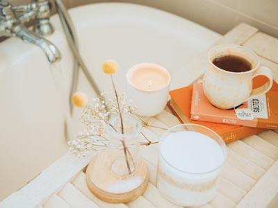Indulgent Bath - January, The Self-Care Season