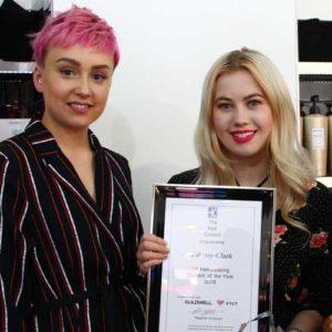 Liberty Clarke - Hair Council Level 3 Winner 2018