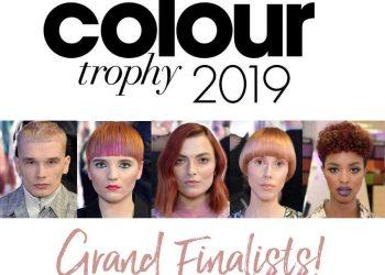LOreal Colour Trophy Finalists Francesco Group