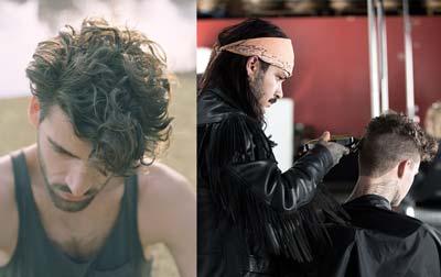 Perm - Men Who Colour Their Hair