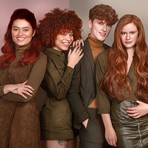 Red Revolution Hair Collection