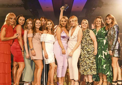 Technical Team Of The Year Second Place Francesco Group Stafford Salon And Acadely